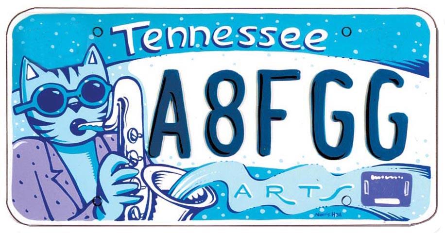 Art License Plates - Ethos Music